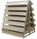 OEM Sheet Metal Fabrication Newspaper Rack