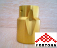 OEM Golden Anodization CNC Aluminum Machining