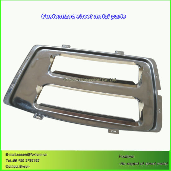 Stainless Steel Fabrication Sheet Metal Punching Parts