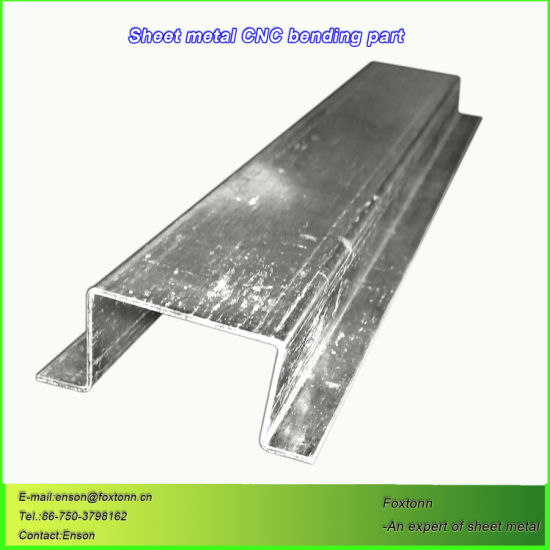 Sheet Metal Fabrication CNC Bending Process for Galvanized Parts