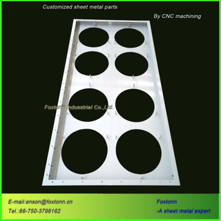 CNC Bending Punching Customized Service OEM Sheet Metal Parts
