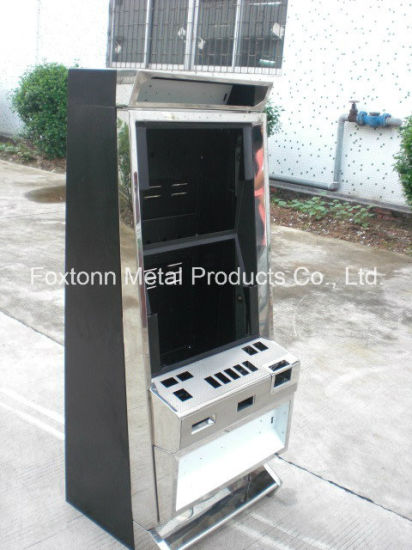 OEM Casino Equipment Single Screen Casino Cabinet