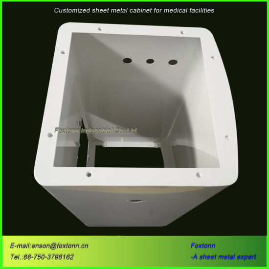 Sheet Metal Fabrication Customized Housings for Medical Cabinet