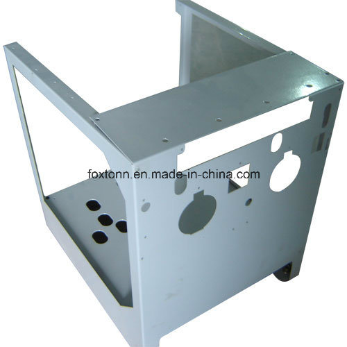 Foxtonn Metal factory CNC Punching Electric Cabinet Sheet Metal Stamping Parts