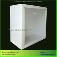 Custom Sheet Metal Fabrication CNC Machining Bending Medical Cabinet
