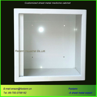 CNC Machining Sheet Metal Cabinet for Medical Storage