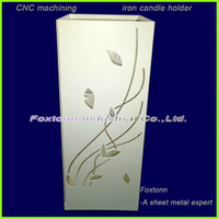 Custom Sheet Metal Box CNC Machining for Candle Lamp Light Holder