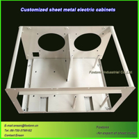 Sheet Metal Fabrication CNC Punching Parts Electrical Box