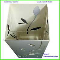 Sheet Metal Fabracation CNC Punching Parts Artistic Flower Vase