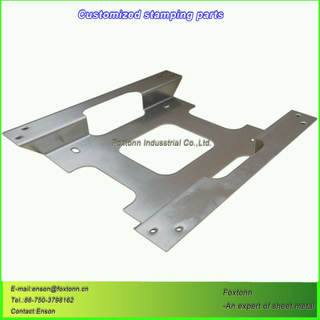 Laser Cutting Parts Stainless Sheet Metal