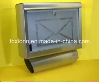OEM Stainless Steel Letter Box with Glass Door