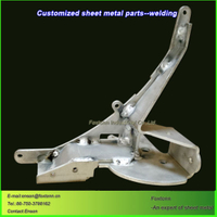 CNC Machining Parts Aluminum Sheet Metal Welding Customizaiton