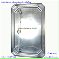 Welding Fabrication Sheet Aluminum Stamping Metal Parts