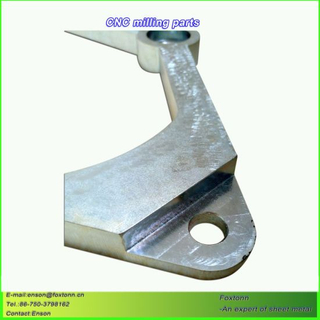 Sheet Metal Fabrication CNC Machining Part