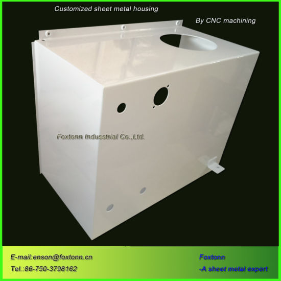 Sheet Metal Fabrication Bending Parts Distribution Box