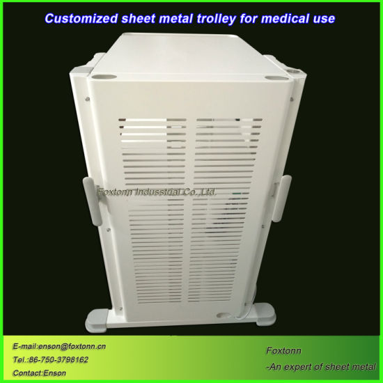 Custom Hospital Nursing Trolley for Medical Instrument