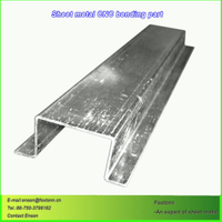 Galvanized Sheet Metal Bending Service by CNC Machining