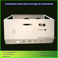 OEM Stamping Welding Enclosure Sheet Metal Fabrication