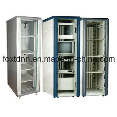 "Custom Manufactured 19"" Large Electric Server Cabinet"