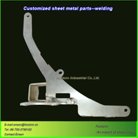 CNC Machining Sheet Metal Fabrication Precision Aluminum Parts
