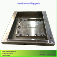 CNC Bending Sheet Metal Fabrication Aluminum Part