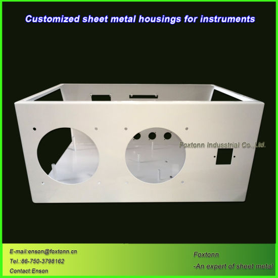 OEM Sheet Metal Parts Customized Fabrication for Electric Industry