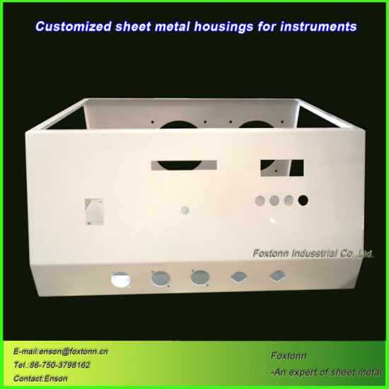 Customized Fabrication Sheet Metal Parts for Electric Instrument