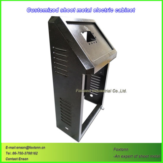 Sheet Metal Electric Enclosure Customized Parts by CNC Machining
