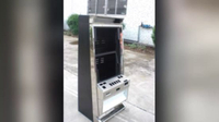 China Manufactured Metal Fabrication Double Screen Casino Slot Cabinet