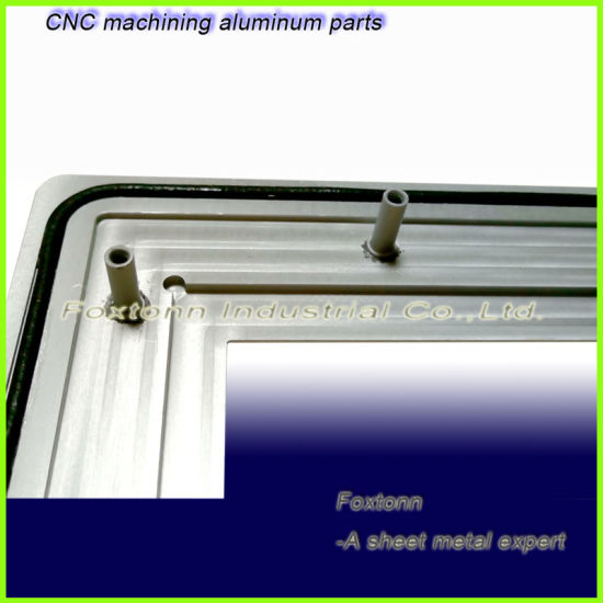 CNC Machining Sheet Metal Parts Aluminum Panel for Eclectronic Devices